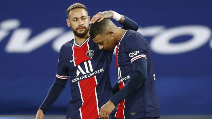 Champions League: Neymar y Mbappé reciben duras críticas tras derrota de PSG ante Manchester City