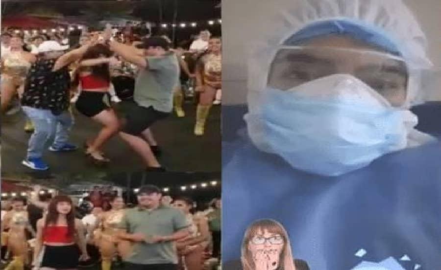 COVID-19: Médicos indignados con video de grupo musical