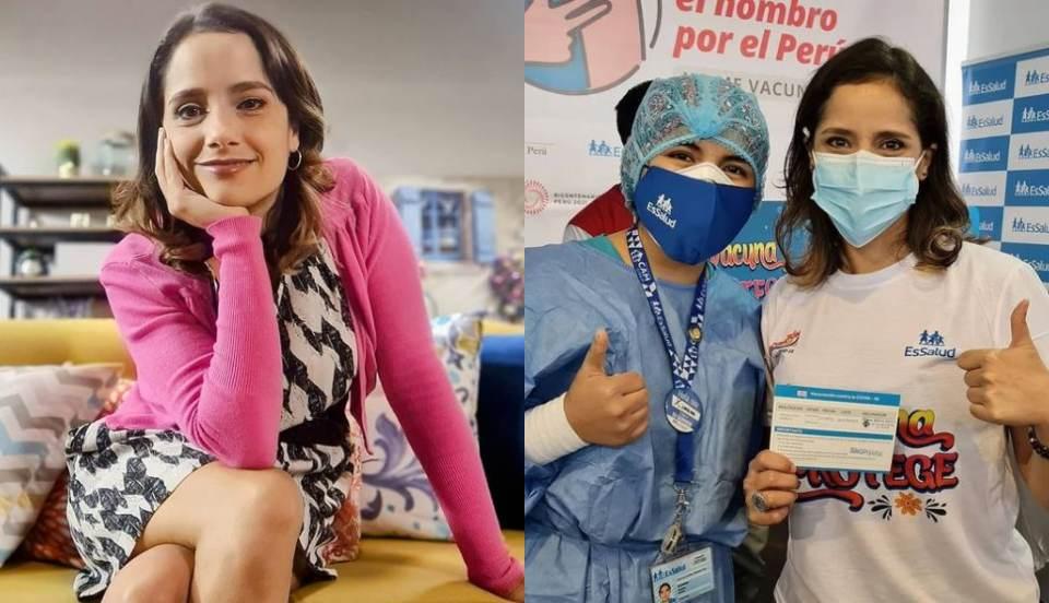 """Melania Urbina tras recibir primera dosis contra la COVID-19: """"No me dolió nada"""""""