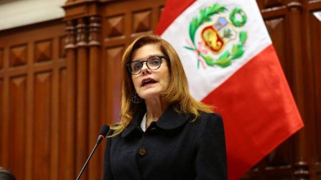 """Mercedes Aráoz califica como """"lista de deseos"""" a la Política General de Gobierno"""
