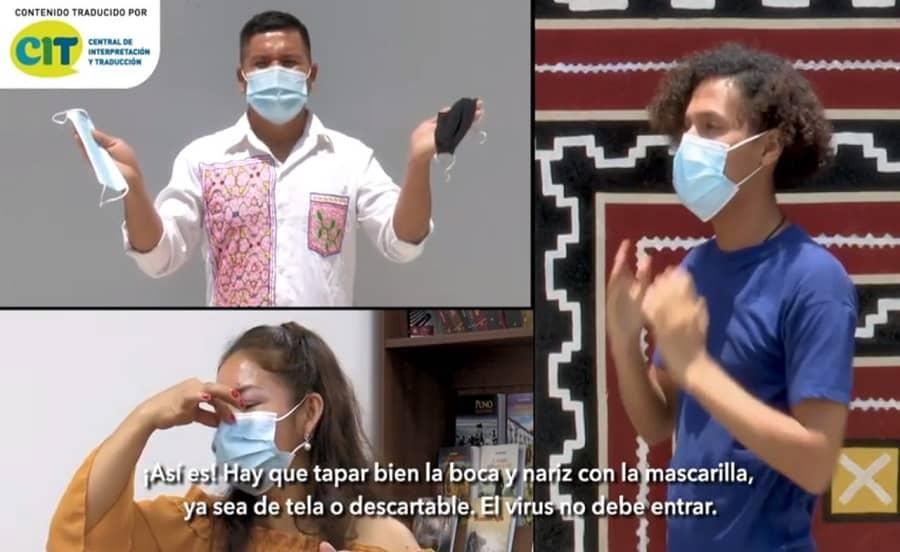 Mincul publica videos en 8 lenguas indígenas sobre uso correcto de mascarillas [VIDEO]