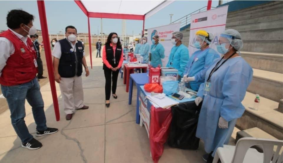 Violeta Bermúdez afirma que dosis restantes de Sinopharm todavía no tienen fecha de llegada al país
