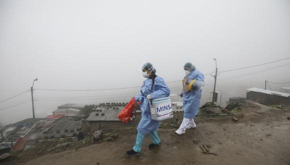 COVID-19: Reportan menor afluencia de público en vacunatorios de Lima Sur