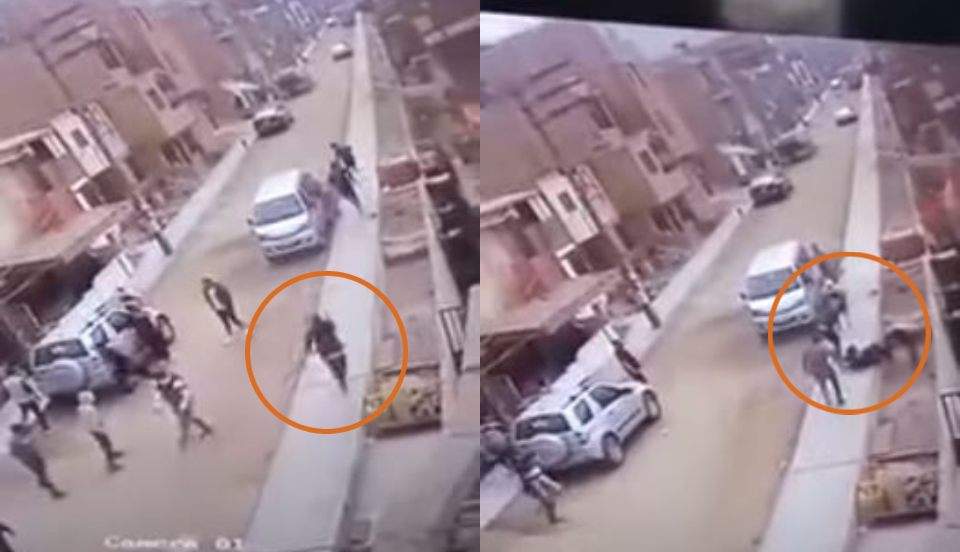 Sujeto intenta asesinar a joven a balazos en Mi Perú [VIDEO]