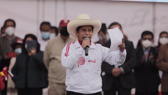"""Pedro Castillo: """"Tenemos unas FF. AA. maduras"""