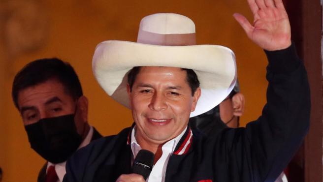 """Pedro Castillo: """"Al corrupto hay que sancionarlo"""""""