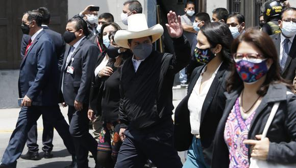 """Pedro Castillo pide a los congresistas estar """"más unidos"""""""