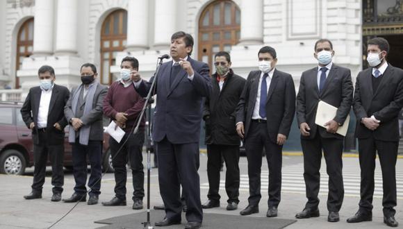 """Perú Libre respalda a Guido Bellido: """"Lo expresado es una opinión franca y directa hacia la empresa transnacional"""""""