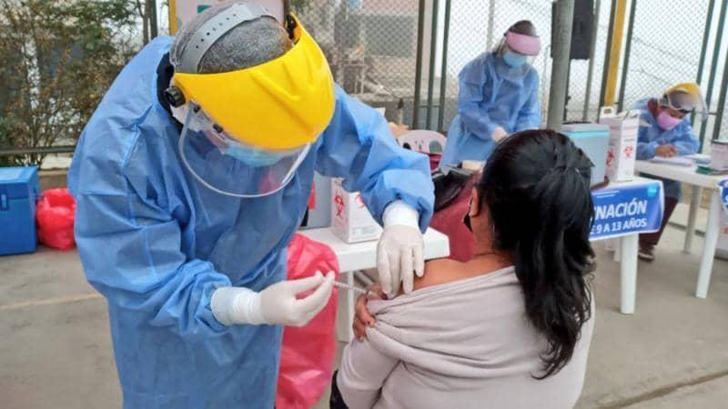 COVID-19: más de 72.400 peruanos ya recibieron la primera dosis de Sinopharm