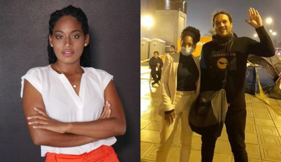 Rosangella Barbarán niega conocer al agresor de periodista