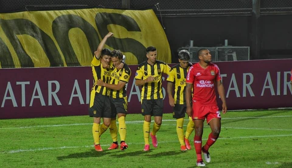 Sport Huancayo cayó 'vapuleado' en su visita a Peñarol en Uruguay por la Copa Sudamericana