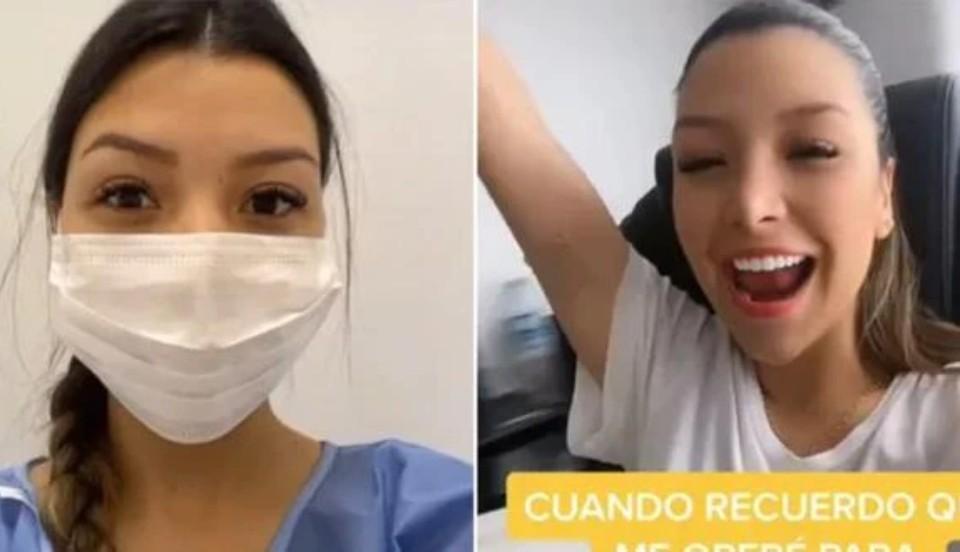 Tiktoker colombiana se liga las trompas a los 21 años y usuarios la critican
