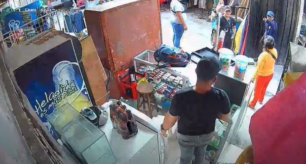 Trujillo: Cámara capta momento en el que sicario asesina a comerciante venezolano
