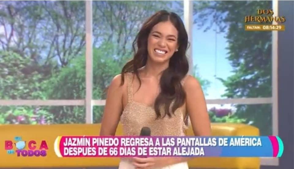 """""""En boca de todos"""": Jazmín Pinedo es el reemplazo de Tula Rodríguez y Maju Mantilla"""