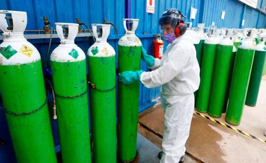 Ucayali: No se puede cubrir ni la mitad de demanda de oxígeno para pacientes COVID-19