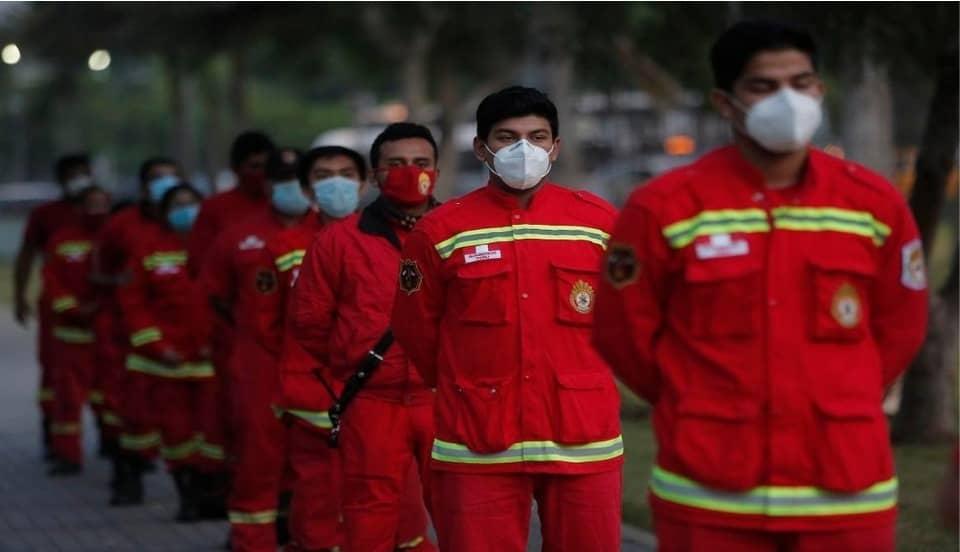COVID-19: Más de 15 mil dosis fueron solicitadas para vacunar a bomberos de todo el país