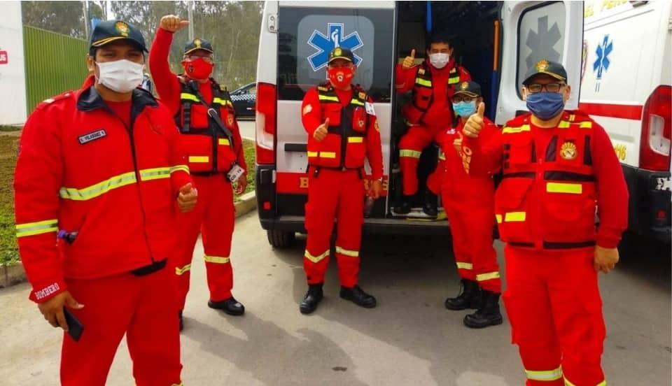 COVID-19: Vacunación a bomberos empezará este sábado 3 de abril con personal del Callao