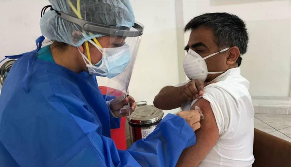 COVID-19: Más de 55 mil peruanos ya se vacunaron con la primera dosis de Sinopharm