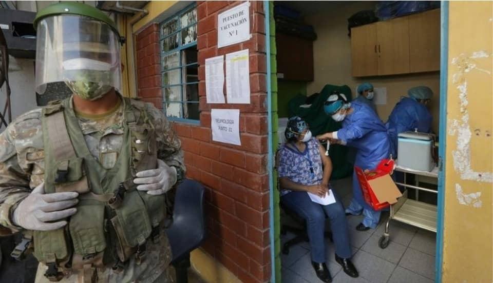 COVID-19: Más de 478 mil peruanos han sido vacunados con una dosis