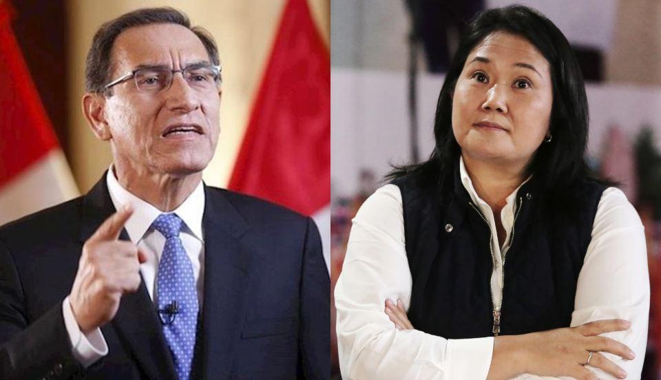 Martín Vizcarra culpa a Keiko Fujimori por poco tiempo de transferencia de gobierno a Pedro Castillo